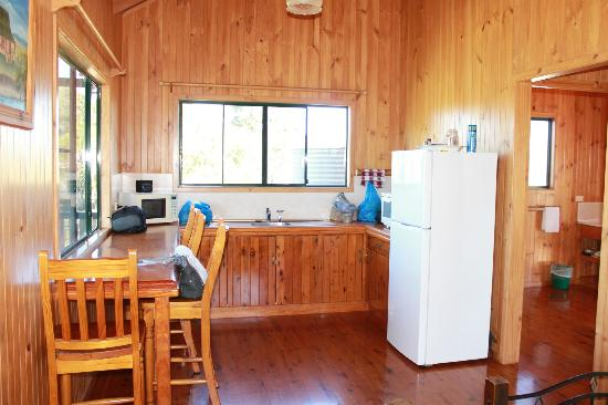 Henderson Park Farm Retreat: Kitchen in Cabin 1