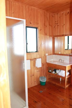 Henderson Park Farm Retreat: Bathroom in cabin 1