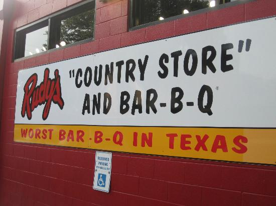 Rudy's Country Store & Bar-B-Q: need we say more