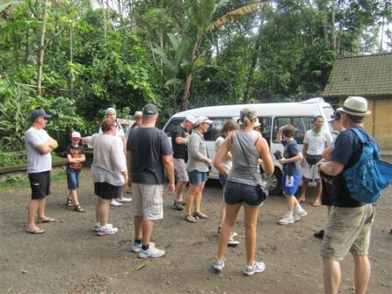 Bali Bintang Tour: At the start of the tour at Luwak/Spice