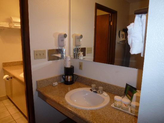 Best Western Chieftain Inn: bathroom