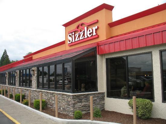 Sizzler: Restaurant entrance