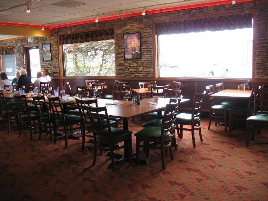 Sizzler: Inside the restaurant