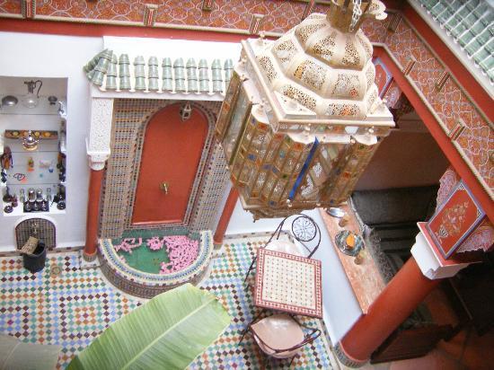 Riad Souad : patio