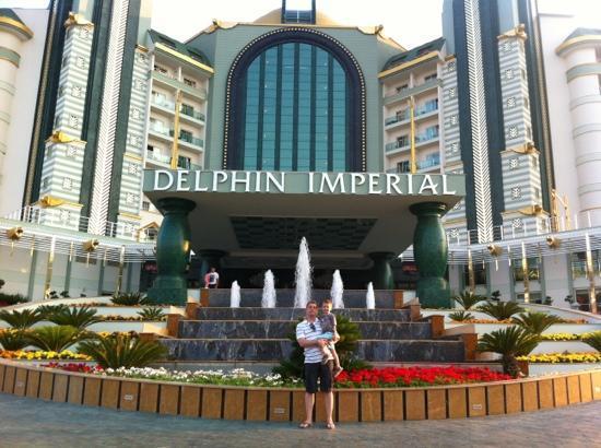 Delphin Imperial Hotel Lara: entrance