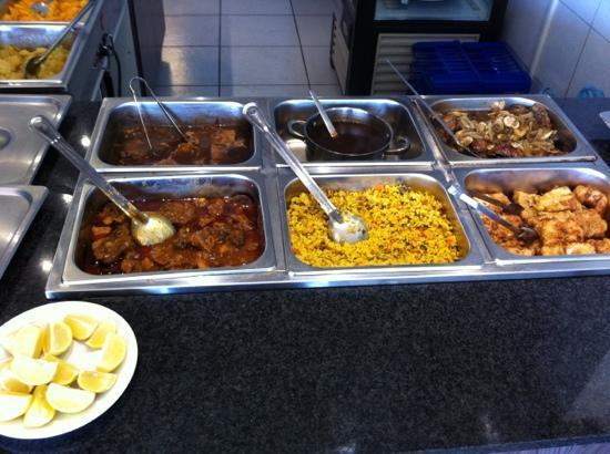 Marc Cramer: best Sunday buffet: curries, stew veggies