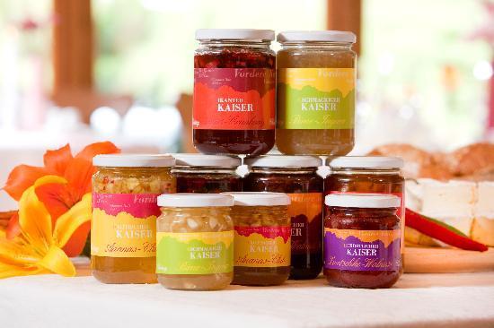 Kaiserhof: hausgemachte Marmeladen