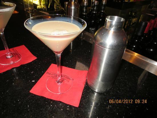 Charcoal Room : Roasted toasted martini