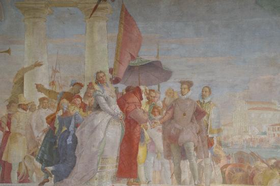 Musée Jacquemart-André : Fresque de Tiepolo