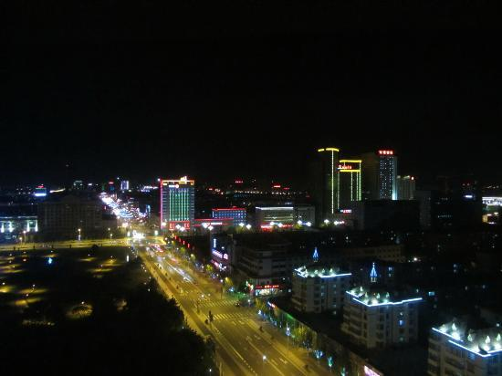 View From Room At Night Picture Of Shangri La Baotou Hotel