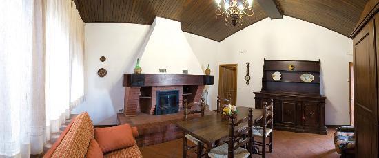 Casa di Sasso: interno / one living room