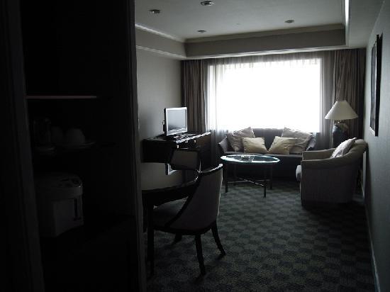 Keikyu EX Inn Shinagawa Ekimae : リビングルーム