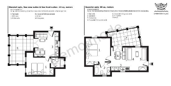 Appartement Plan Picture Of Candia Park Village Agios