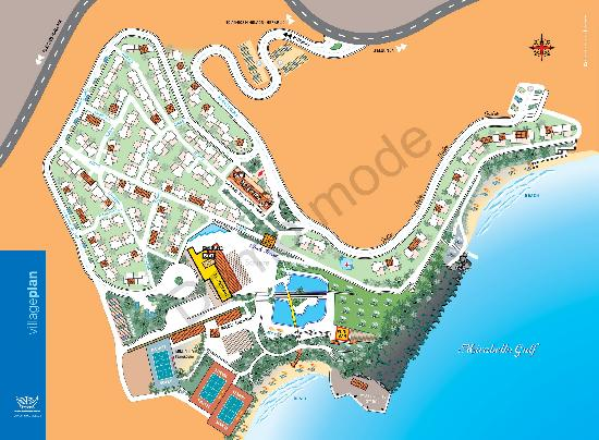 Candia Park Village : Hotel map
