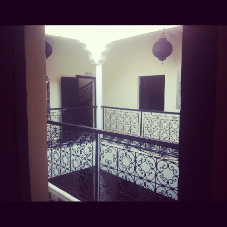 Riad Elizabeth : View from Olivia room door