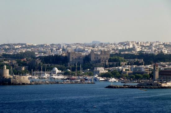 Rhodos, Griechenland: panorama