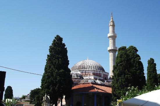 Rhodos, Griechenland: Moschea
