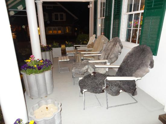 The Living Room: another outside view on porch
