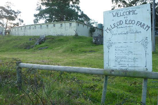 McLeod Ecofarm: Prison cells at McLeod Eco Farm