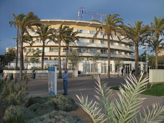 Grupotel Acapulco Playa: Hotel von Strandansicht