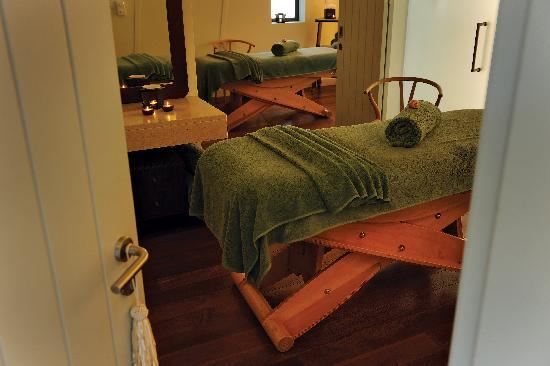 Finisterra Spa: Double Treatment room