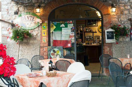 Bar Dante : excellent location