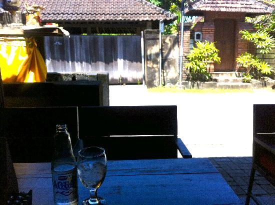 Lilla Warung : view from lillas warung