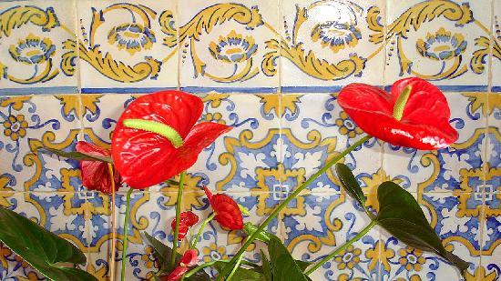 Alegre Hotel Bussaco: Poruguese XVII Century original tiles