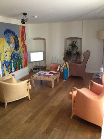 Parc Beaux-Arts Hotel Luxembourg: living room area