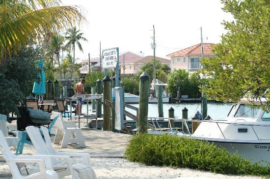 BayView Inn Motel and Marina : Dock area