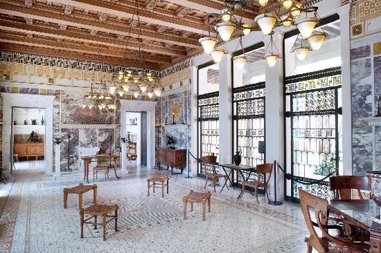 andron photo de villa grecque k rylos beaulieu sur mer tripadvisor. Black Bedroom Furniture Sets. Home Design Ideas