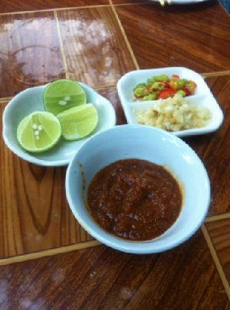 Lao Lao Garden! : BBQ Sauce and condiments