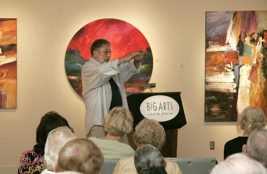 BIG Arts (Barrier Island Group for the Arts): Jonas Gerard lecture at BIG ARTS Phillips Gallery
