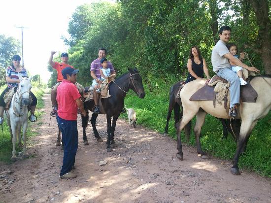 La Posada de Juan: Paseo a caballo