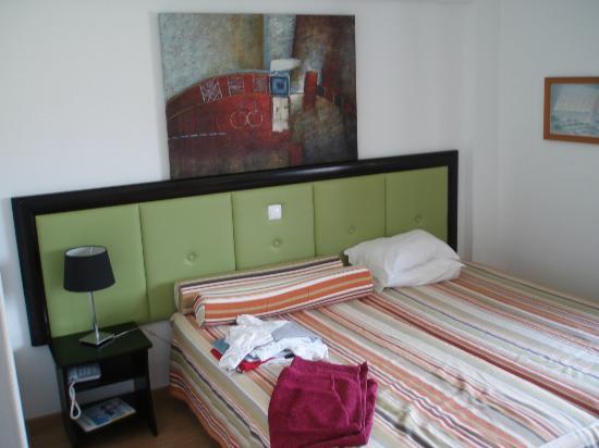 Hotel Zodiaco: bed