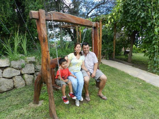 La Posada de Juan: En el parque