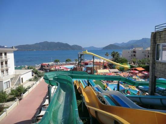 Me at the waterpark. - Picture of Marmaris Atlantis ...