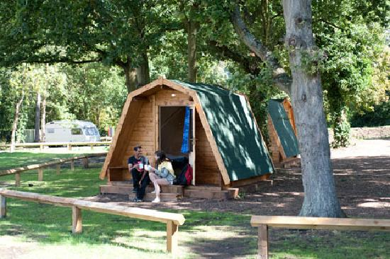 Lee Valley Campsite, Sewardstone: Kick back in the peaceful cocoons