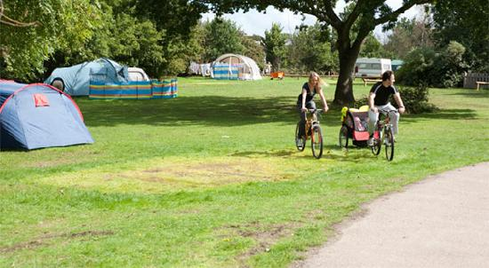 Lee Valley Campsite, Sewardstone: Allowing dedicated tent fields