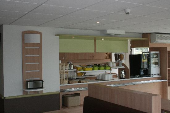 Ibis Budget Cosne-sur-Loire : Caféteria
