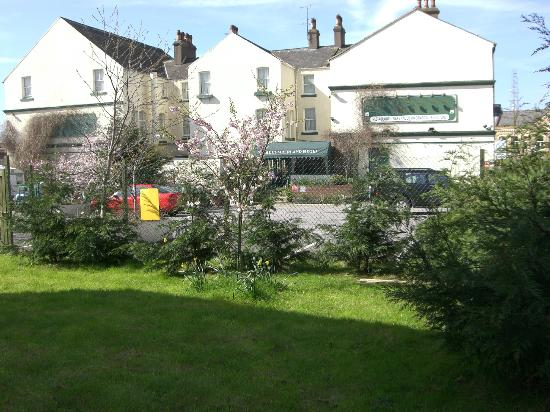 Workington, UK: View of Hotel from Garden-32 New Bedrooms on way 2012