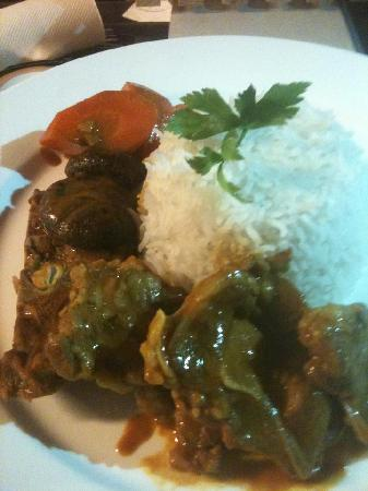 Red Corner Restaurant and Bar: Lamb curry $9