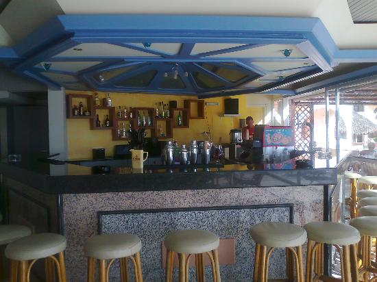 Rethymno Sunset Hotel: Main bar