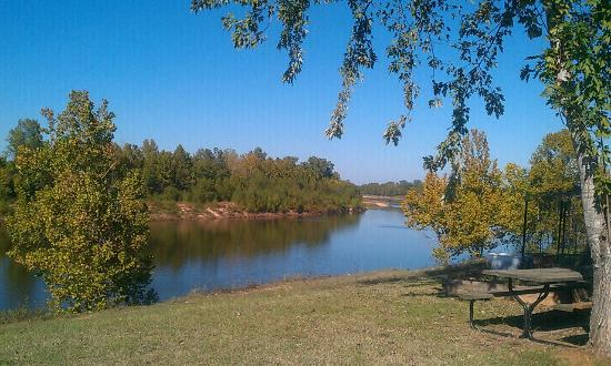 Cash Point Landing Marina & RV Park: View from river site