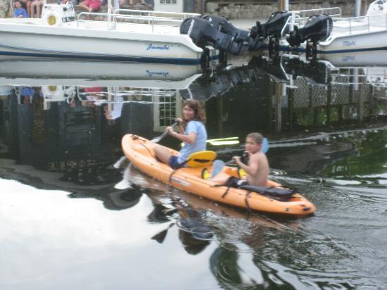 Tarpon Flats Inn: kayak