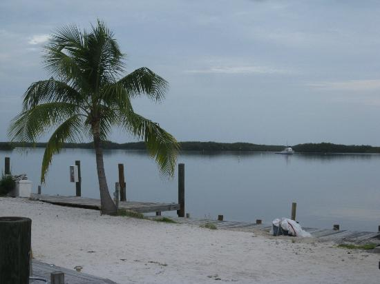 Tarpon Flats Inn: beach