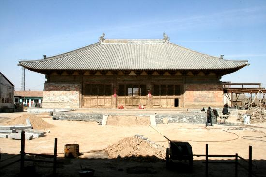 Lingyan Temple of Weizhou