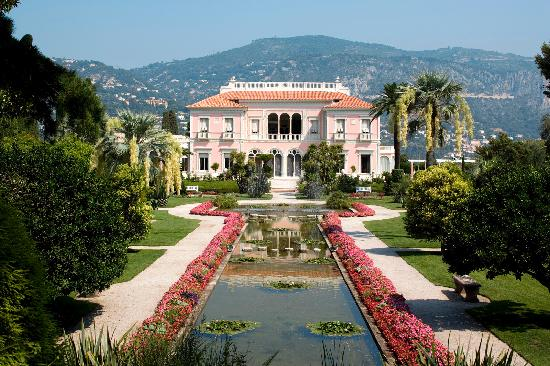 Villa santo sospir st jean cap ferrat france top tips for Jardin villa rothschild