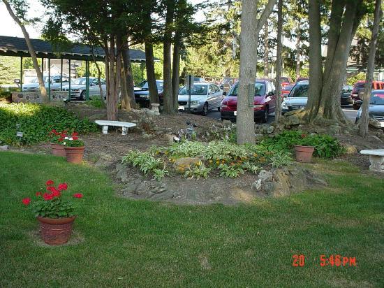Taylor & Dunn's Public House: The garden