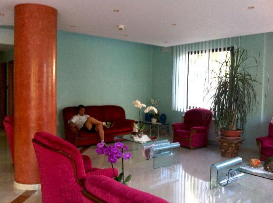 Hotel Cristina : la hall